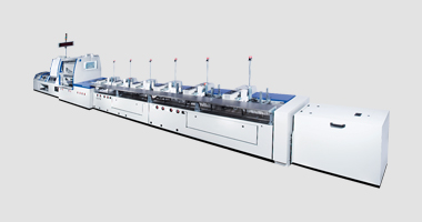KM 610 Perfect Binder  with 832 Gathering Machine